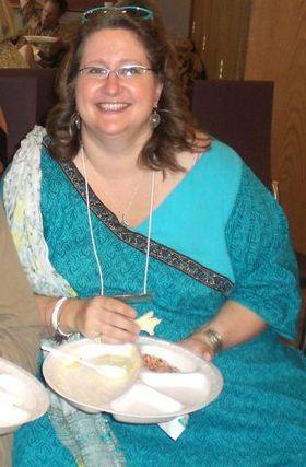 Lunch at the Mumbai Baha'i Center