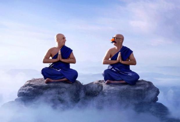 blue monks